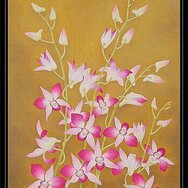 PINK ORCHIDS -----SOLD-----