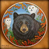 BEAR DRUM ------SOLD------