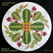 PRAYER PLANT DRUM