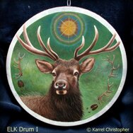 ELK DRUM I ~~~~~SOLD~~~~~
