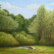 GRIGGS PARK IN SPRING ~ SOLD ~