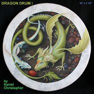 DRAGON DRUM -----SOLD-----