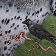SPOTTED PONY & JACKDAW (detail)