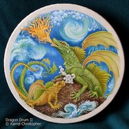 DRAGON DRUM II -----SOLD-----