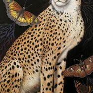 CHEETAH LADY guided by sky & earth spirits ~SOLD~